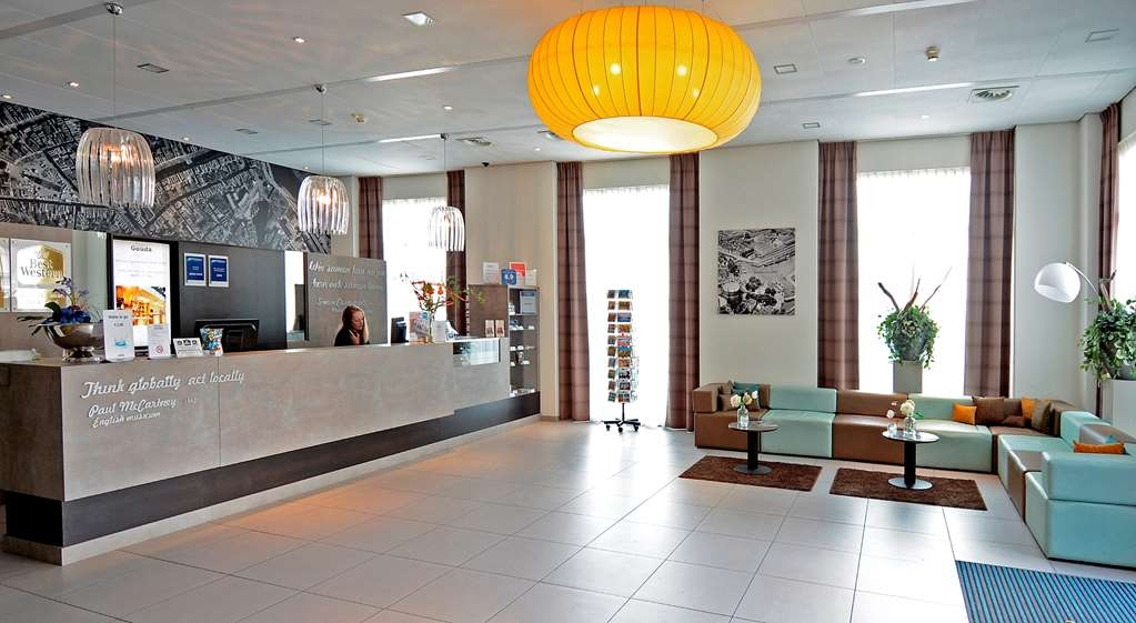 Best Western Plus City Hotel Gouda - recepción
