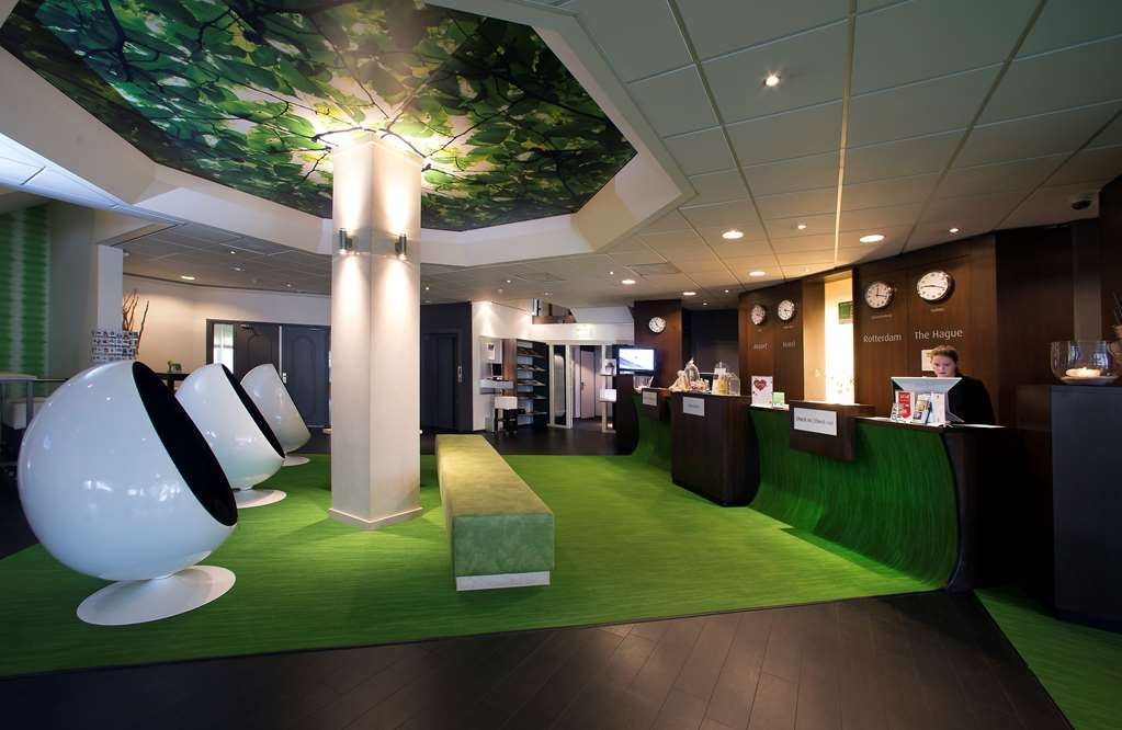 Best Western Plus Rotterdam Airport Hotel - Réception