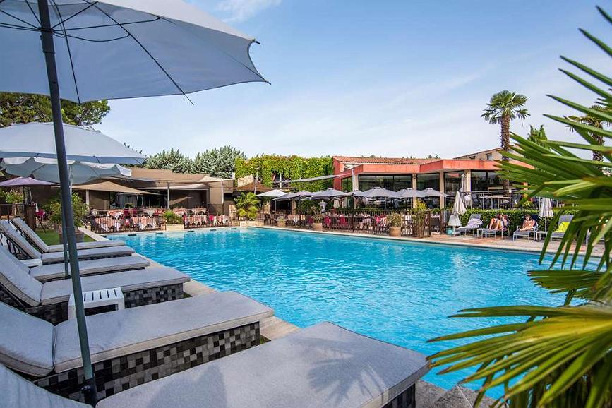 Best Western Sevan Parc Hotel - Area esterna
