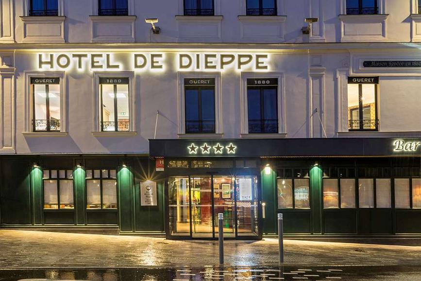 Best Western Plus Hotel de Dieppe 1880 - Vista exterior