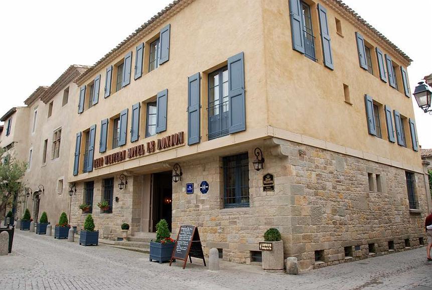 Best Western Plus Hotel Le Donjon - Aussenansicht