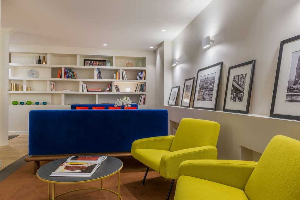 Best Western Jardin De Cluny - Lounge & library