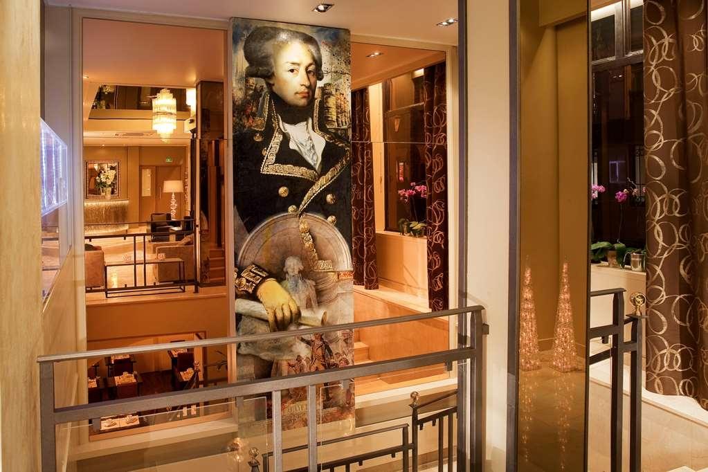 Best Western Anjou Lafayette Opera - Vue du lobby