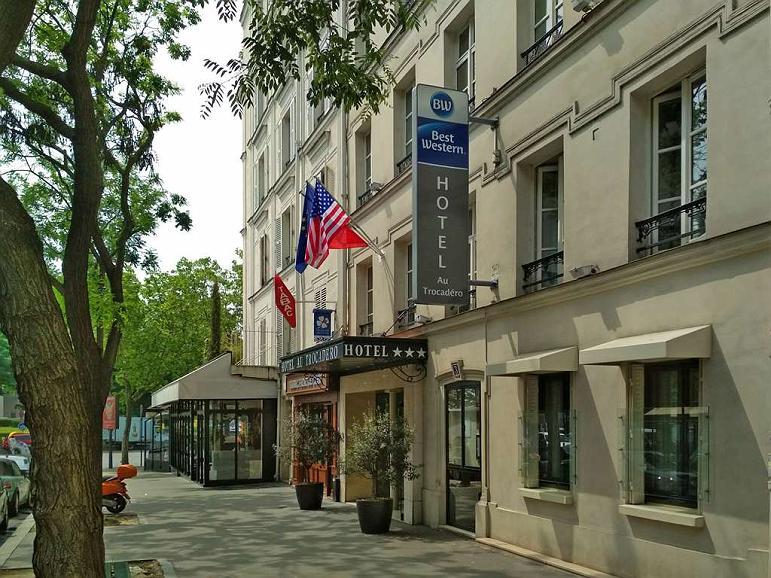 Best Western Au Trocadero - Aussenansicht