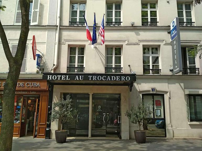 Best Western Au Trocadero - Façade