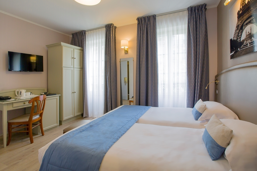 Best Western Au Trocadero - Twin Bed Guest Room