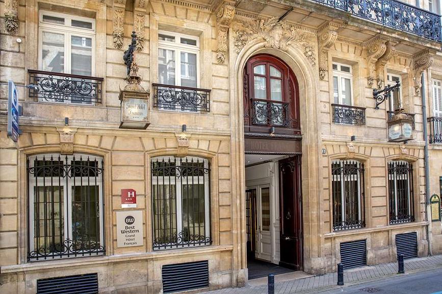 Best Western Grand Hotel Francais - Area esterna