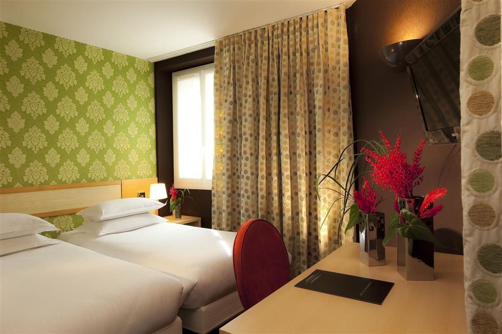 Best Western Bretagne Montparnasse - Habitación con dos camas individuales