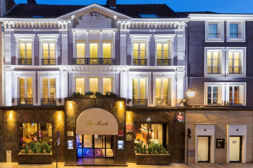 Best Western Premier Hotel de la Poste & Spa - Area esterna