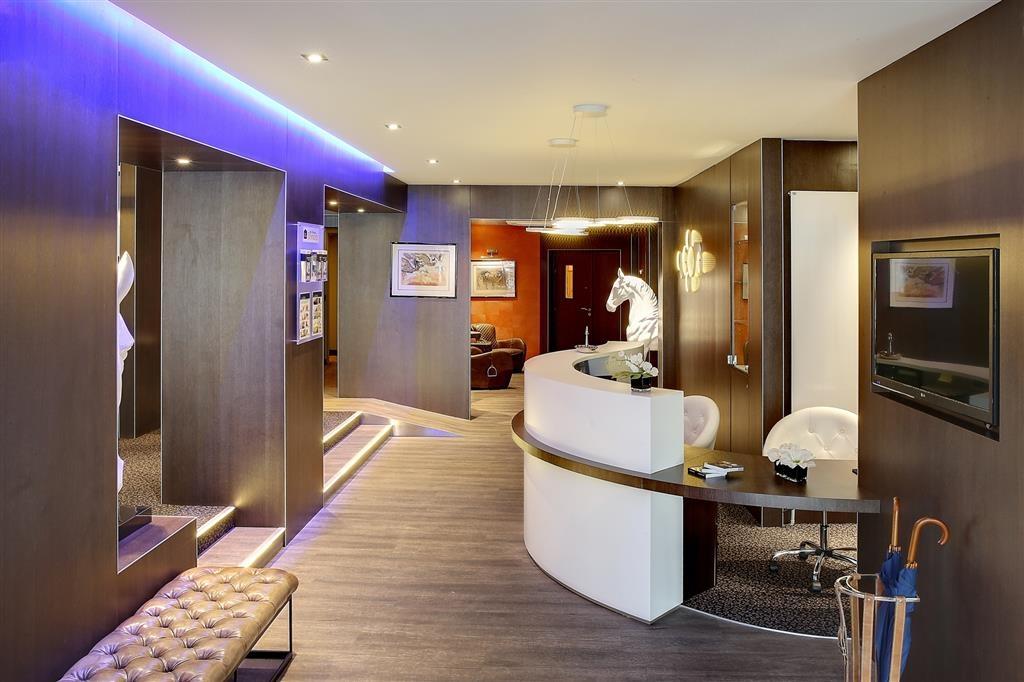 Best Western Premier Hotel de la Poste & Spa - Vestíbulo