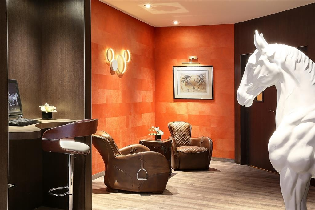 Best Western Premier Hotel de la Poste & Spa - Hall e business center