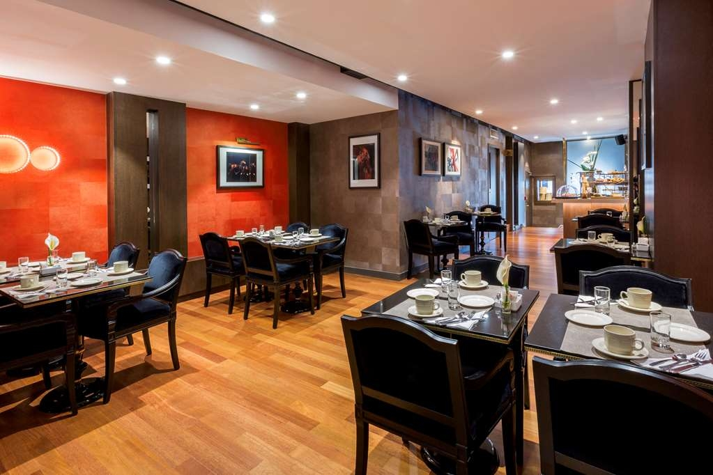 Best Western Premier Hotel de la Poste & Spa - Zona de desayunos