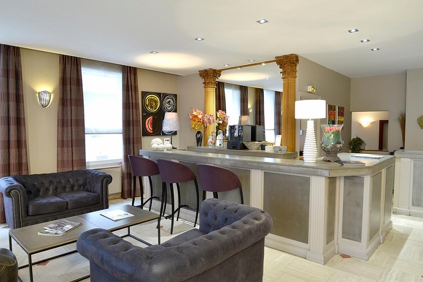 Best Western Hotel Les Beaux Arts - Lobbyansicht