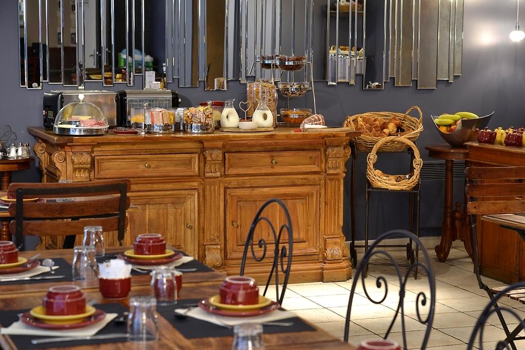 Best Western Hotel Les Beaux Arts - Frühstücksbuffet