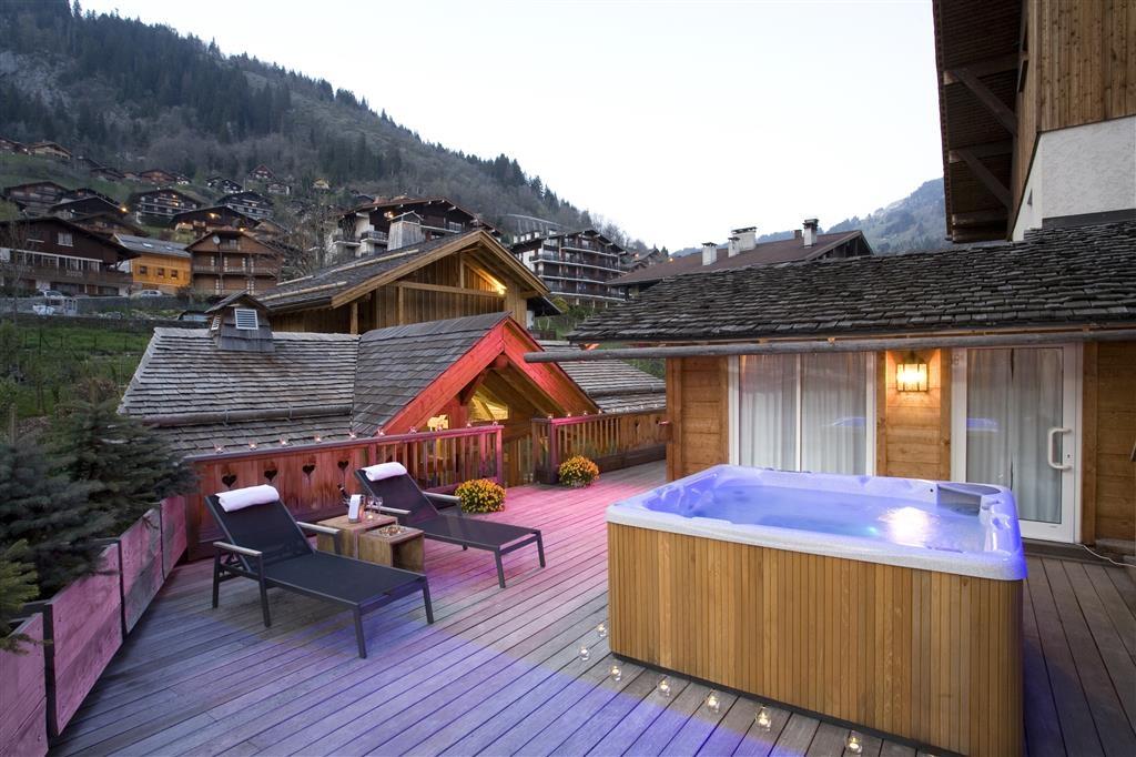Best Western Chalet Les Saytels - Wannen-Whirlpool
