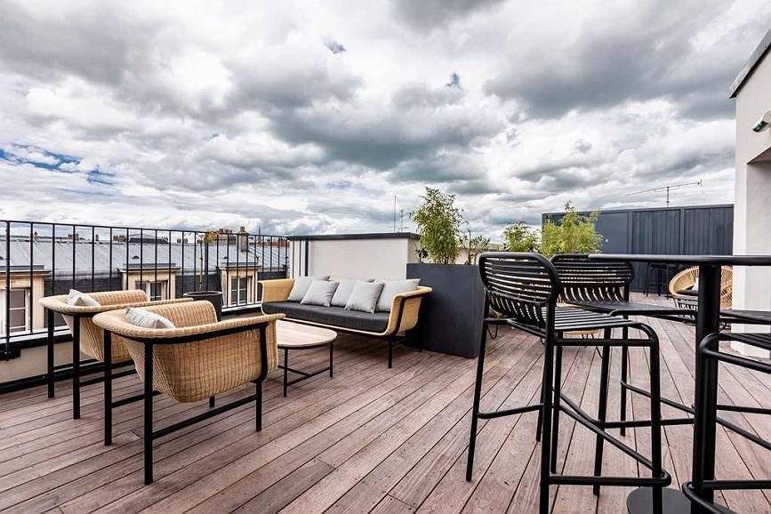 Best Western Plus Crystal, Hotel & Spa - Best Western Plus Crystal Hotel et Spa Rooftop Toit Terrasse