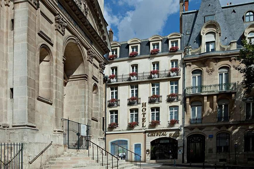 Best Western Hotel Crystal - Façade extérieure principale