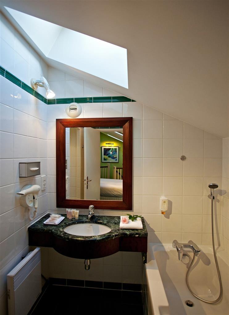 Best Western Hotel Crystal - Bagno della camera per gli ospiti
