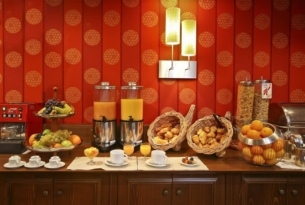 Best Western Plus Hostellerie Du Vallon - Colazione