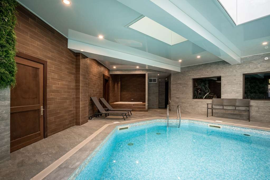 Best Western Plus Hostellerie Du Vallon - Piscina coperta