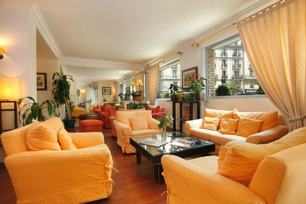 Best Western Hotel Eiffel Cambronne - Vista del vestíbulo