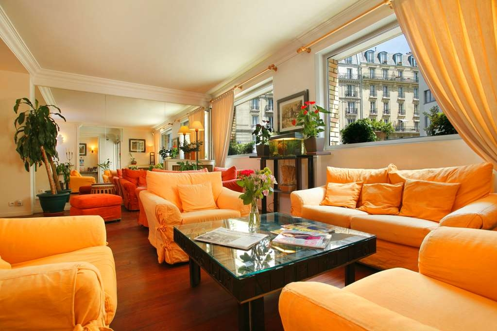Best Western Hotel Eiffel Cambronne - Lobby