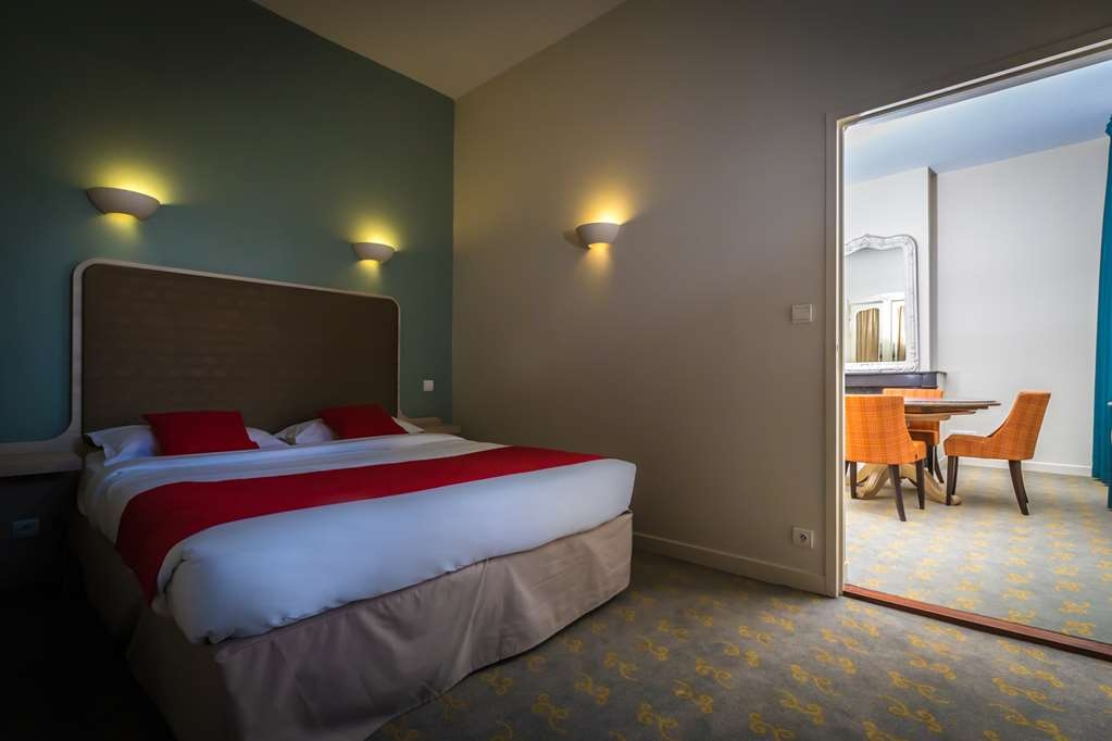 Best Western Hotel De France - Family Suite - Bedroom