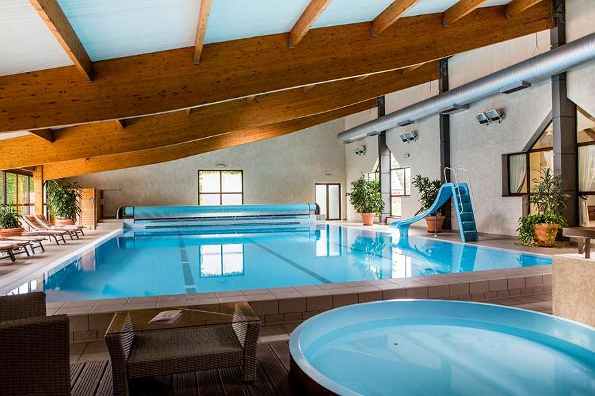 Best Western Le Relais de Laguiole Hotel & Spa - Indoor & heated swimming-poll