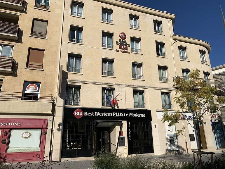 Best Western Plus Le Moderne - Vista exterior