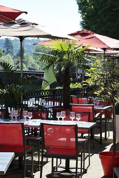 Best Western Hotel Le Pont D'Or - Terrace