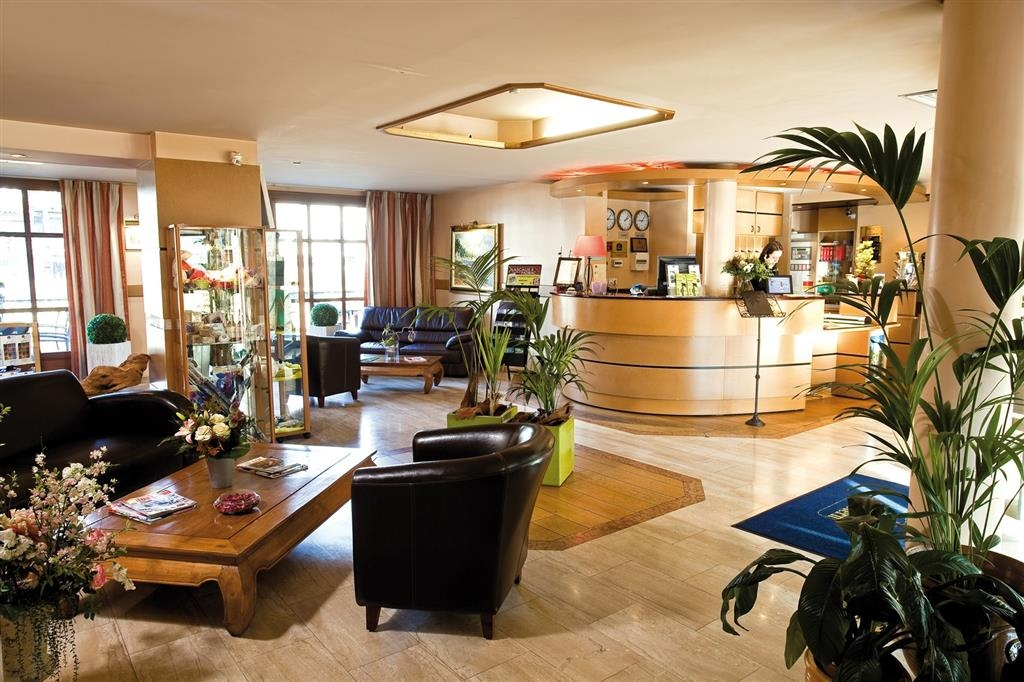 Best Western Hotel Le Pont D'Or - Hall