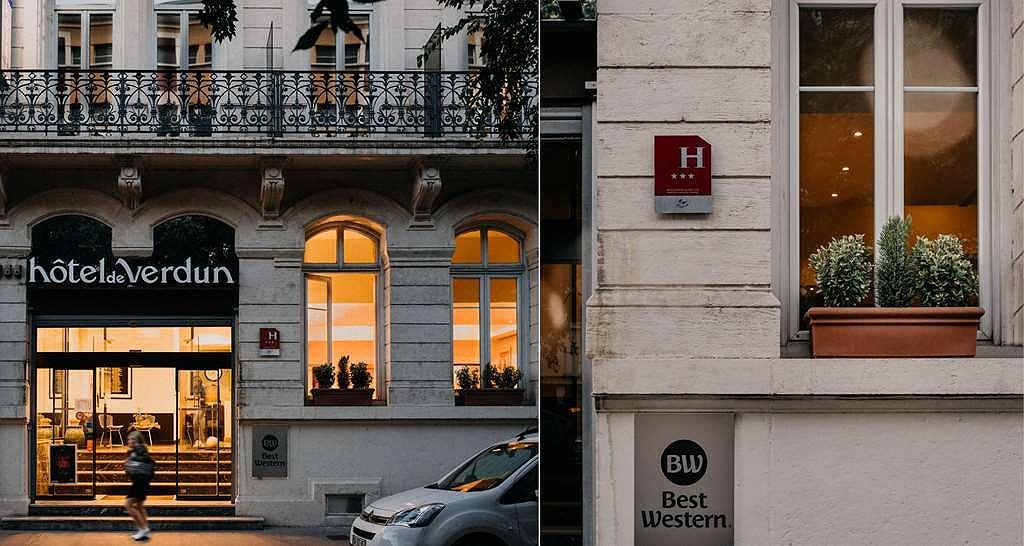 Best Western Hotel De Verdun - Aussenansicht