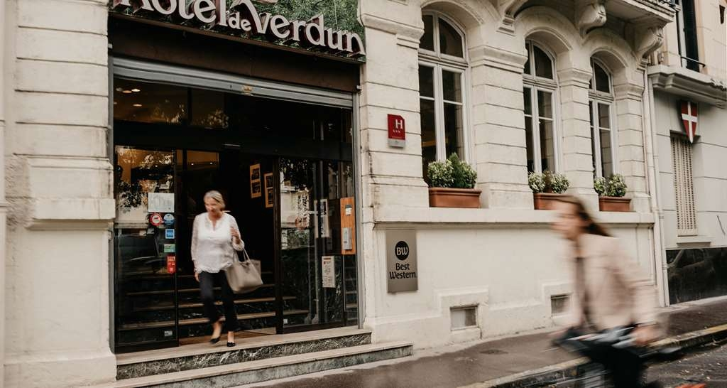 Best Western Hotel De Verdun - Façade