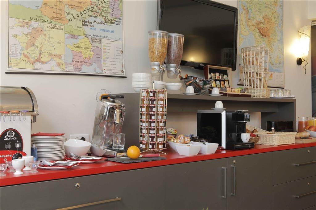 Best Western Crequi Lyon Part Dieu - Zona de desayunos