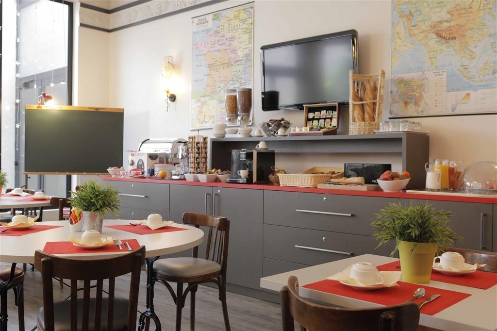 Best Western Crequi Lyon Part Dieu - Breakfast Area