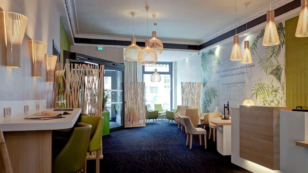 Best Western Crequi Lyon Part Dieu - Hotel Lobby