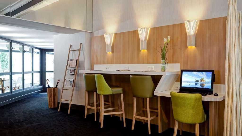 Best Western Crequi Lyon Part Dieu - centro de negocios-característica