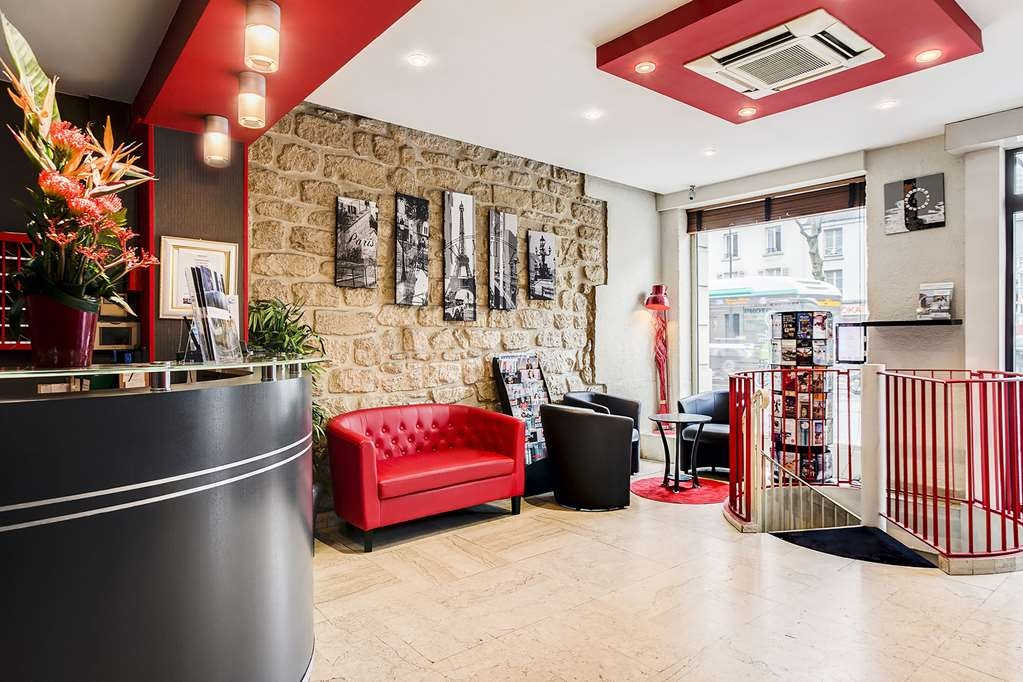 Best Western Nouvel Orleans Montparnasse - Reception