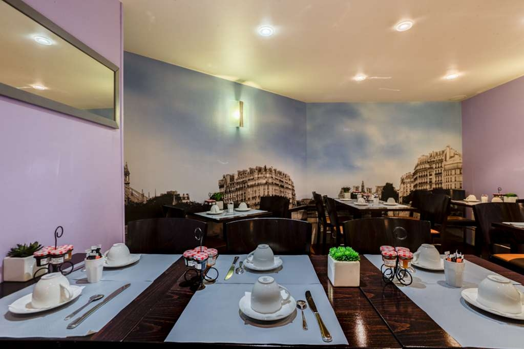 Best Western Nouvel Orleans Montparnasse - Breakfast Area