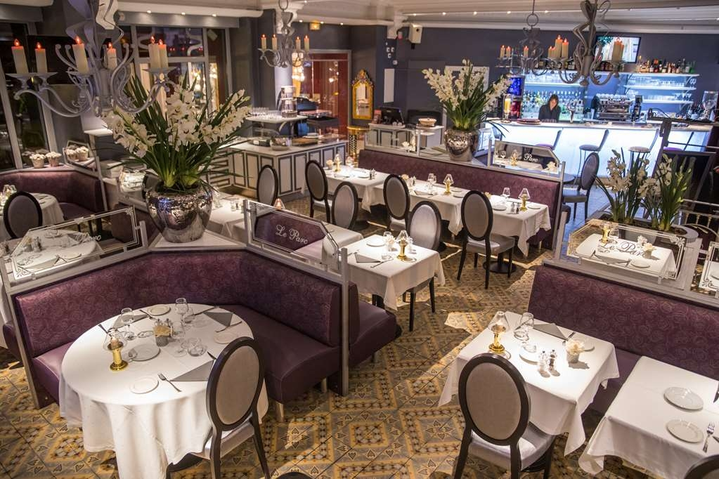 Best Western Beausejour - Brasserie Le Parc Evening atmosphere