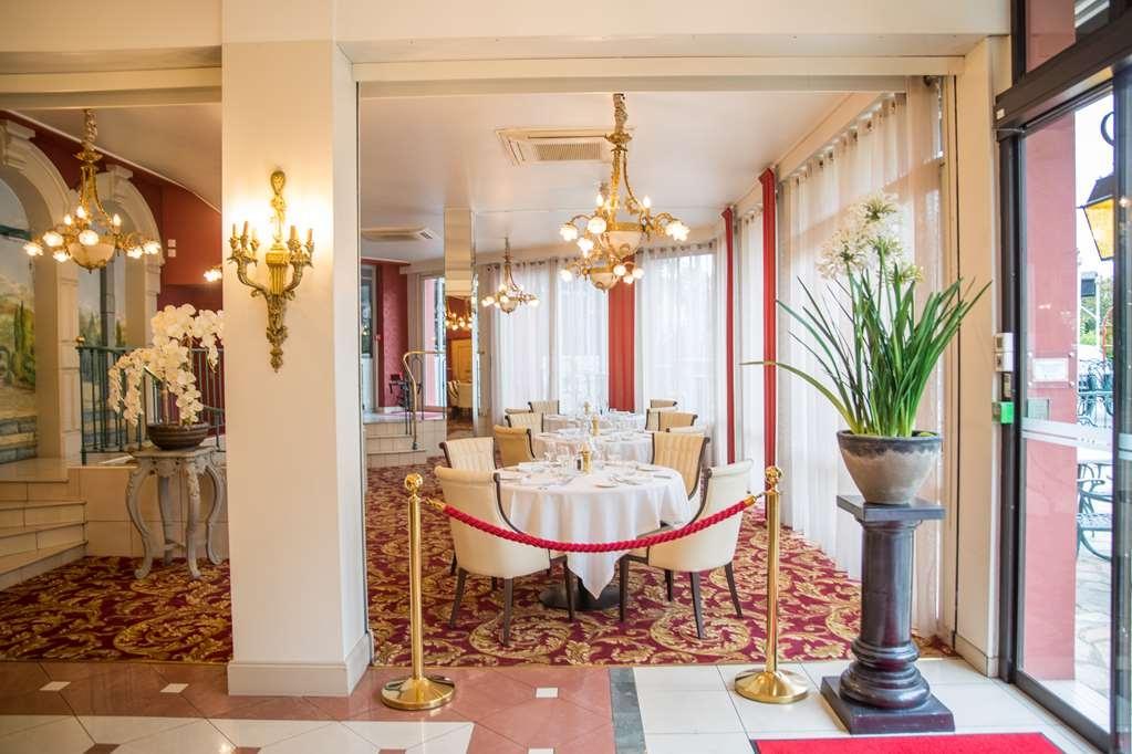 Best Western Beausejour - Restaurant Parc Side Jardin Hotel Best Western Beausejour Lourdes Hautes Pyrénées