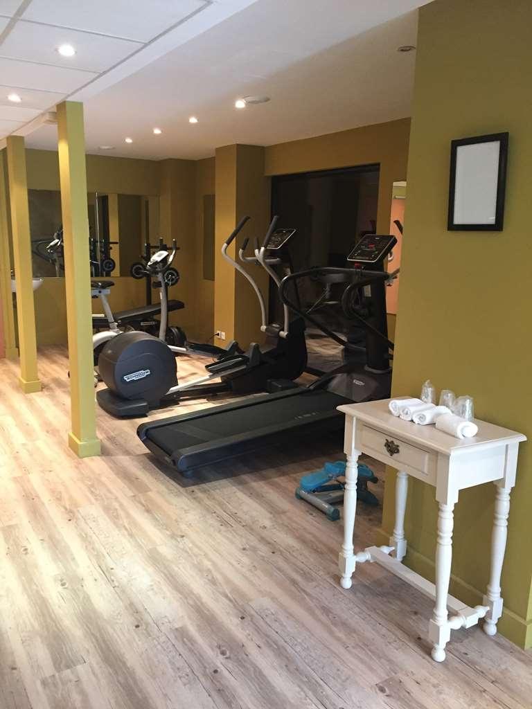 Best Western Plus Soleil Et Jardin - sala de ejercicios