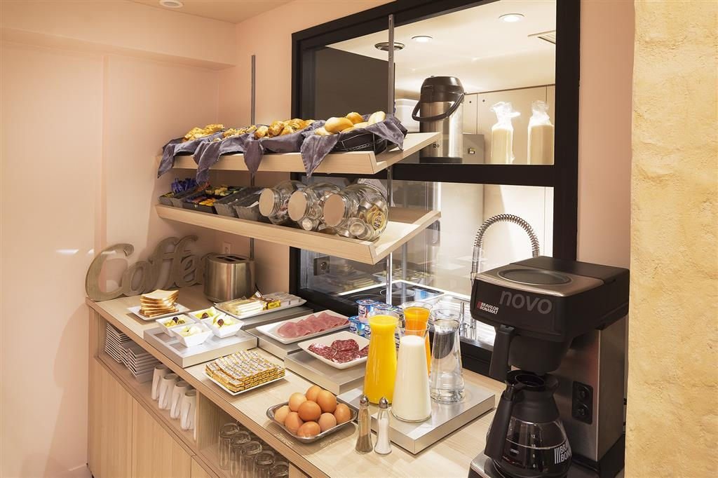 Best Western Plus Quartier Latin Pantheon - Colazione a buffet