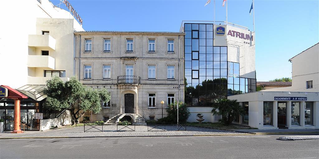 Best Western Hotel Atrium - Aussenansicht