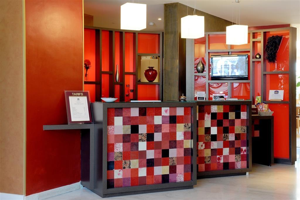 Best Western Hotel Atrium - Vestíbulo