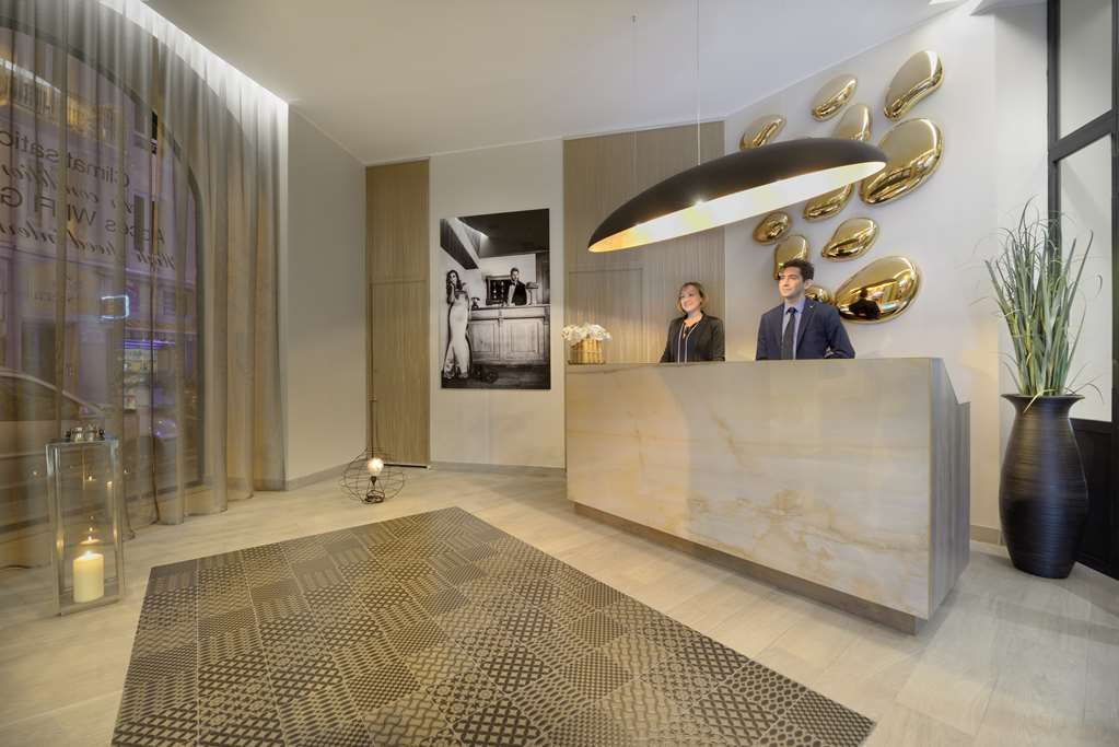 Best Western Plus Nice Cosy Hotel - Best Western Plus® Nice Cosy Hotel Reception Desk
