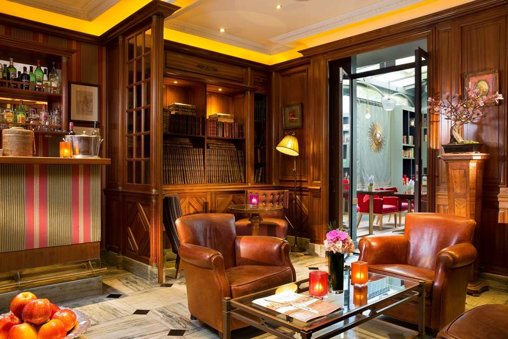 Best Western Premier Trocadero la Tour - Bar/Lounge