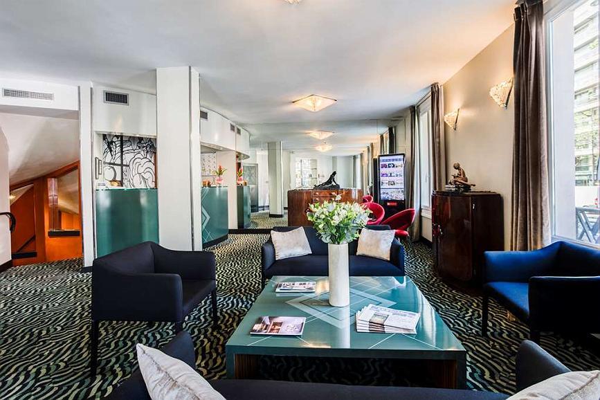 Best Western Plus Hotel Mercedes Arc de Triomphe - Vista del vestíbulo