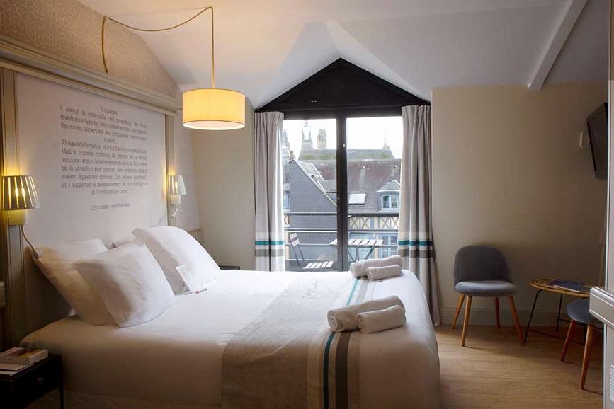 Best Western Plus Hotel Litteraire Gustave Flaubert - Chambres / Logements