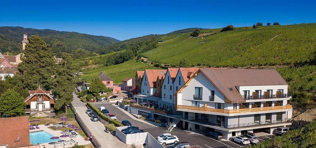 Best Western Hotel & SPA Le Schoenenbourg - Vue extérieure